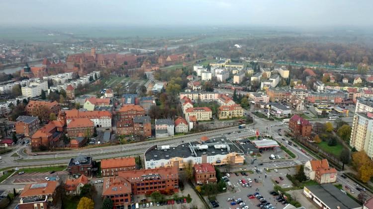 Zobacz zdjęcia lotnicze. Uporządkowanie gospodarki wodno–ściekowej w Malborku.