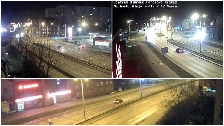 """O krok od tragedii. Pod prąd przez Rodła w Malborku - pijany czy """"Anglik""""?. Zobacz wideo"""