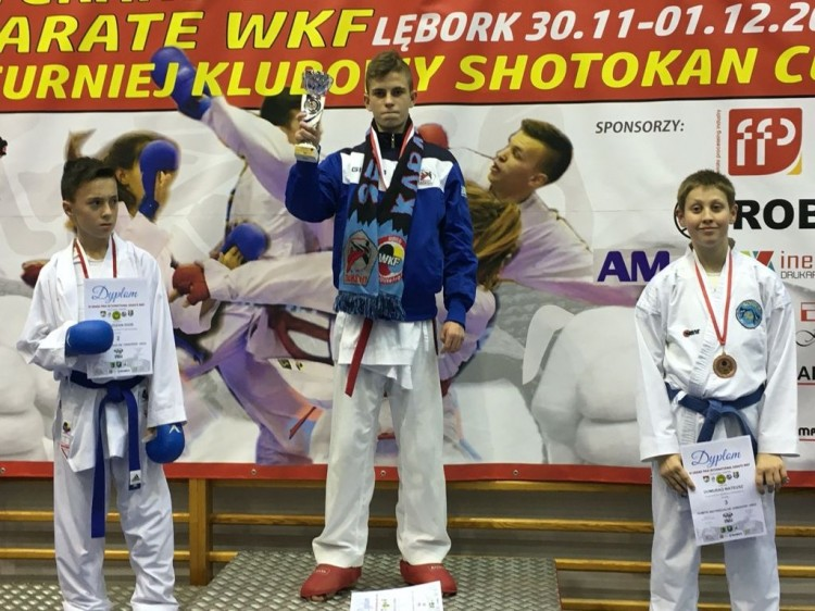 Nowostawianin w reprezentacji Polski kadetów w karate.