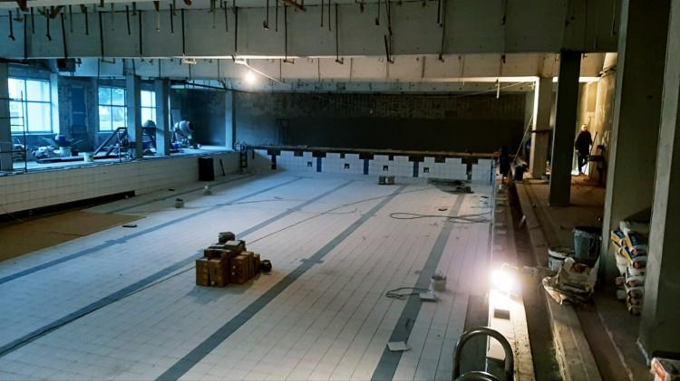 Trwa remont basenu w Malborku. Znamy datę otwarcia pływalni.