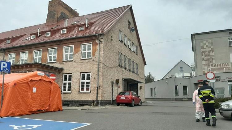 Na terenie szpitala w Sztumie ustawiony zostanie kolejny namiot.