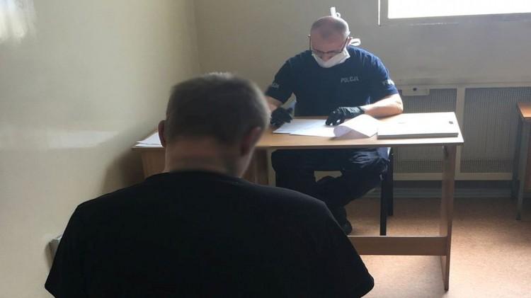 Młody włamywacz trafił do aresztu.