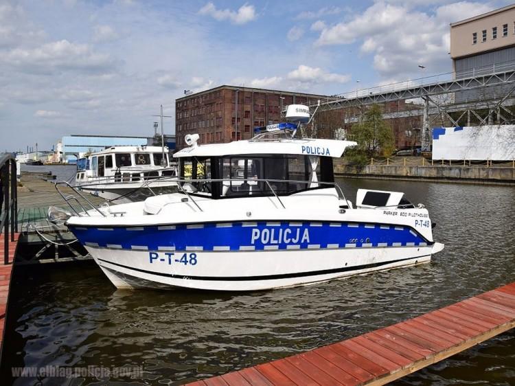 Policyjni wodniacy z Warmii i Mazur przygotowani do sezonu żeglarskiego.