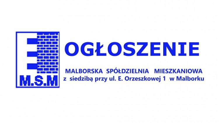 Budowa instalacji ciepłej wody użytkowej wraz przebudową instalacji gazowej. Malborska Spółdzielnia Mieszkaniowa ogłasza przetargi.
