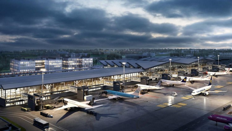 Rozpoczął się trzeci etap rozbudowy gdańskiego lotniska.