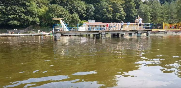 Kąpielisko miejskie nad rzeką Nogat nieczynne do odwołania.