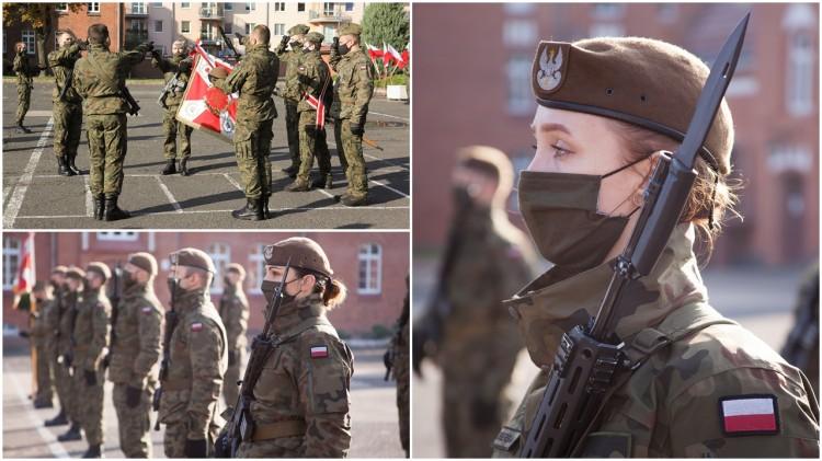 Kolejna przysięga terytorialsów w Malborku.