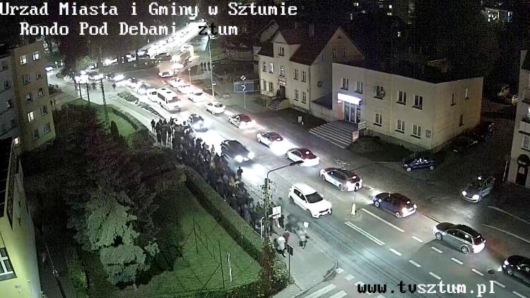 CZARNY PROTEST przeszedł ulicami Sztumu.