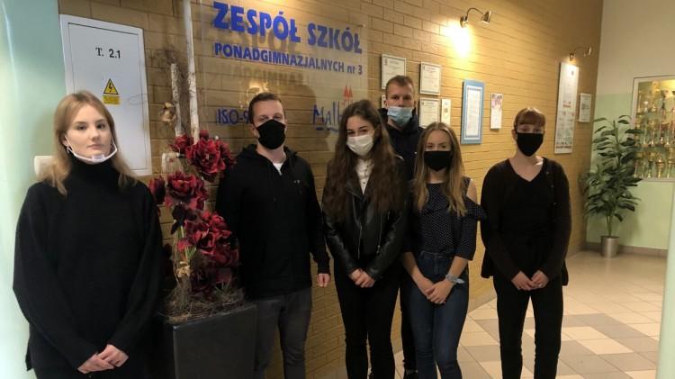 Uczniowie ZSP3 w gronie najlepszych stypendystów województwa pomorskiego.