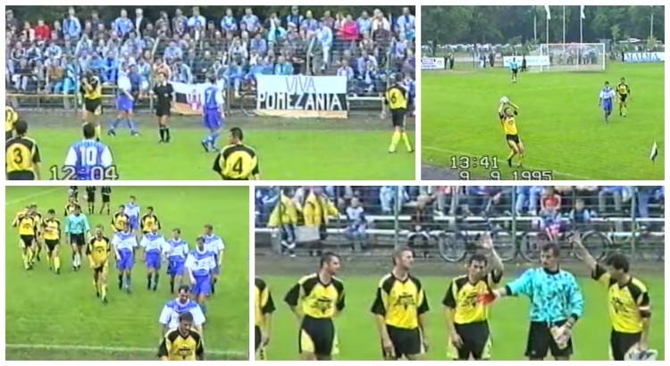 Pomezania Malbork - Unia Tarnów - 09.09.1995