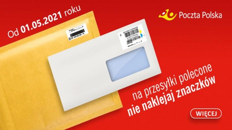 List polecony już wkrótce nadasz bez znaczka.