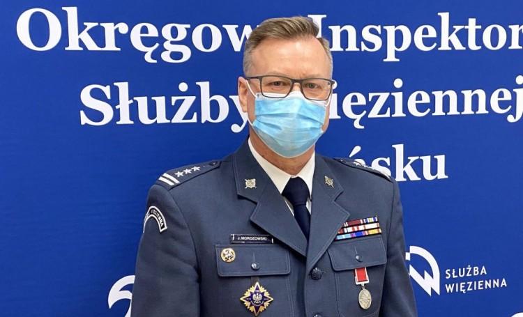 Sztum. Dyrektor Zakładu Karnego zakończył służbę w więziennictwie.