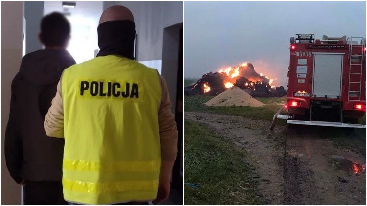 Malbork. Strażak ochotnik wzniecał pożary.