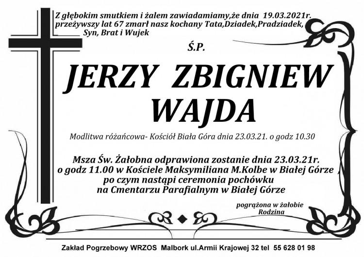 Zmarł Jerzy Zbigniew Wajda. Żył 67 lat.