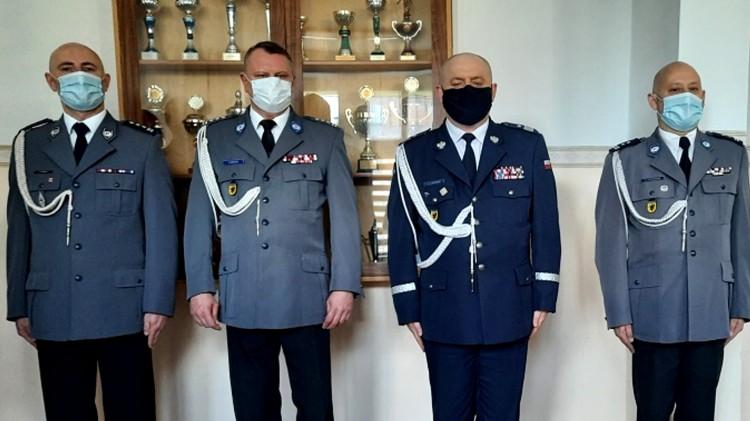 Sztum. Zmiana warty w policji - Komendant insp. Tomasz Czaja odszedł na emeryturę.