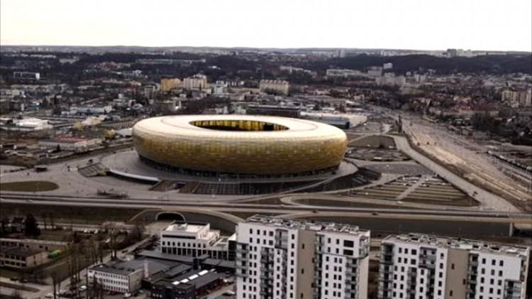Gdański stadion ma nową nazwę - Polsat Plus Arena Gdańsk.