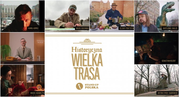Rusza Historyczna Wielka Trasa Stand-up Polska. Mamy dla was bilety.
