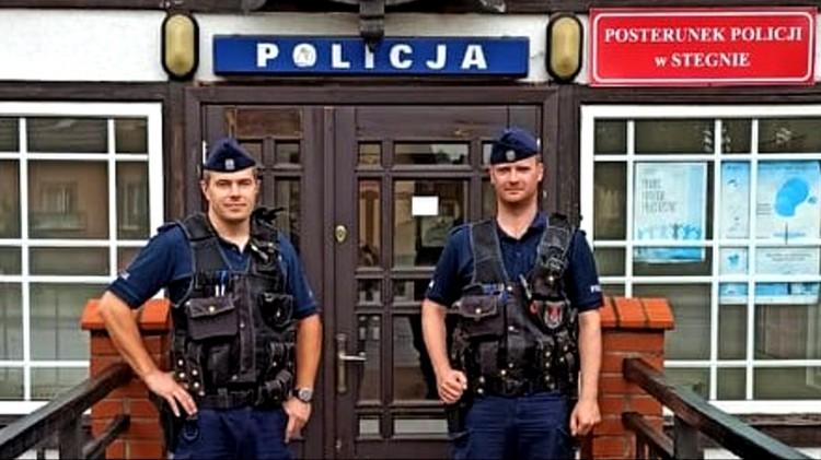 Nowy Dwór Gdański. Policyjne wsparcie dla turystycznych miejscowości.