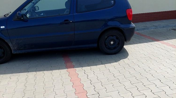 Mistrz (nie tylko) parkowania na Kasztanowej w Nowym Stawie.