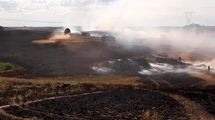 Plaga pożarów w powiecie i niebezpieczne kolizje – raport sztumskich służb mundurowych.