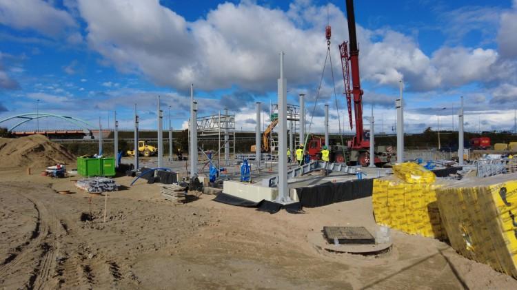 Nowy Dwór Gdański. Powstaje stacja paliw SHELL. Wkrótce budowa restauracji KFC - 12 października 2021
