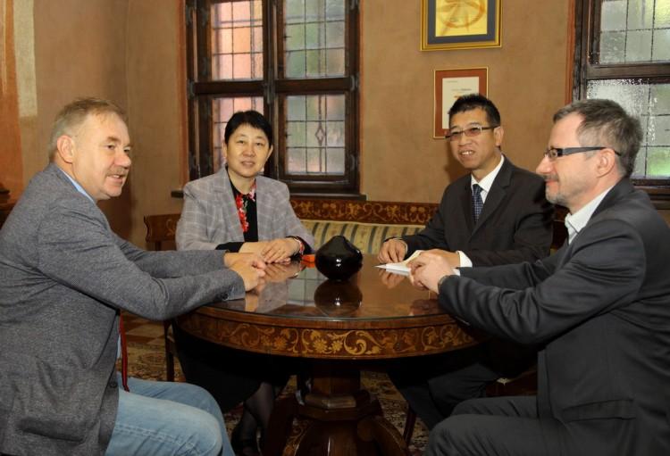Wizyta Konsul Chińskiej Republiki Ludowej na Zamku w Malborku - 01.10.2015
