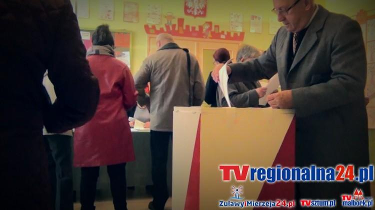 Malbork głosuje! Trwają wybory do Sejmu i Senatu - 25.10.2015