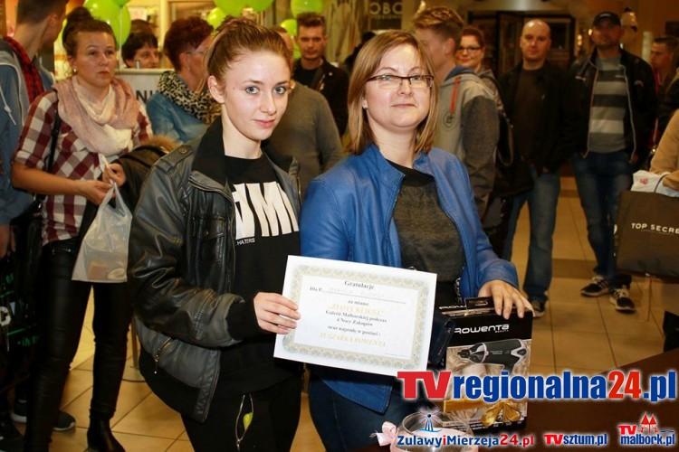 Ponad 60 nagród rozdanych! 4 Noc Zakupów w Galerii Malborskiej - 23.10.2015