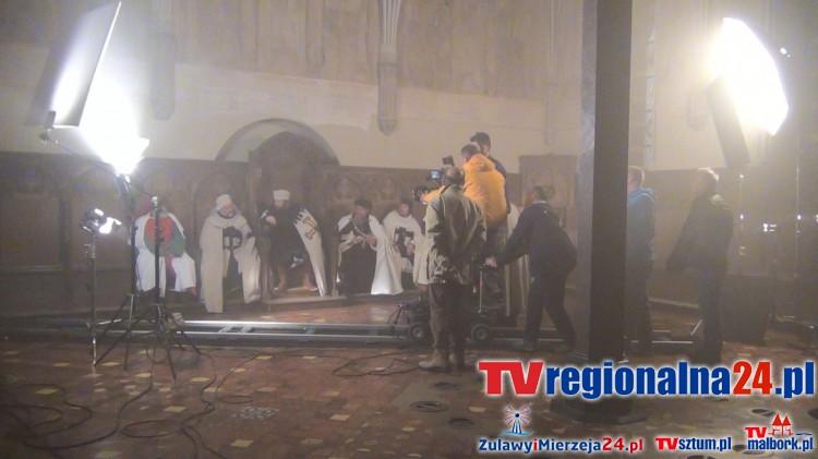 "Zdjęcia do filmu ""Habit i zbroja"" na Zamku w Malborku - 20-28.10.2015"