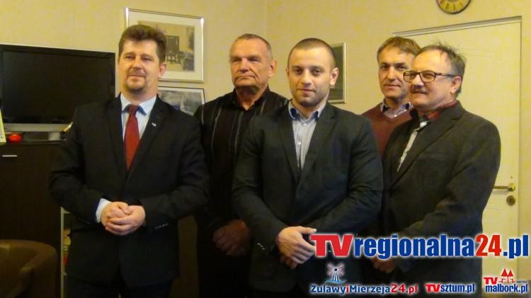 Złoty medal z Wałbrzycha przywiózł Bartosz Samp. Gratulacje złożone przez burmistrza miasta dla Klubu Sportowego