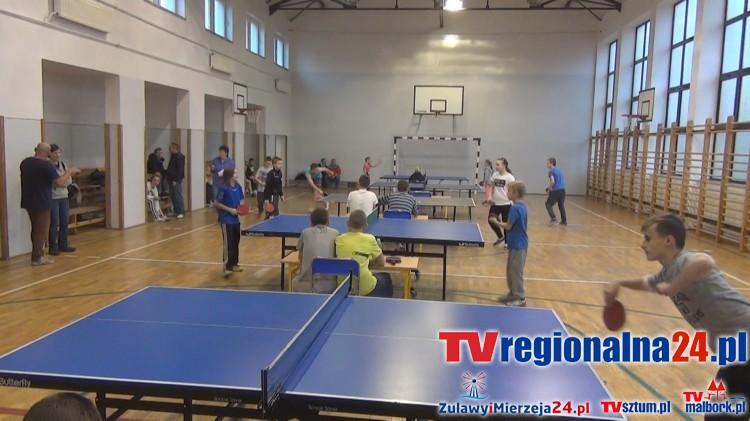 Ping-Pong, czyli turniej Tenisa Stołowego w Nowym Stawie – 07.11.2015