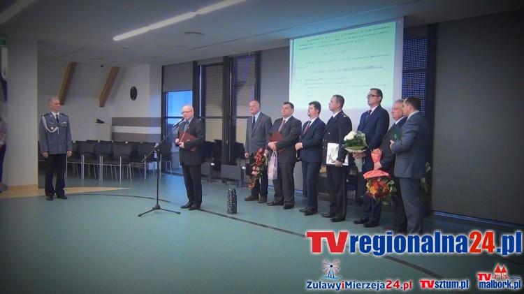 25 lat historii Malborskiej Policji. Obchody Święta Policji w Szkole Łacińskiej - 10.11.2015