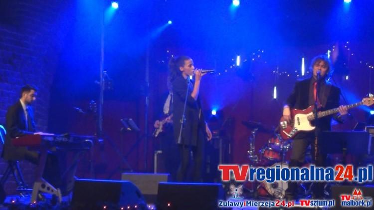 Aleksandra Szwed wystąpiła podczas XXV Festiwalu Boże Narodzenie w Sztuce w Malborku - 27.12.2015