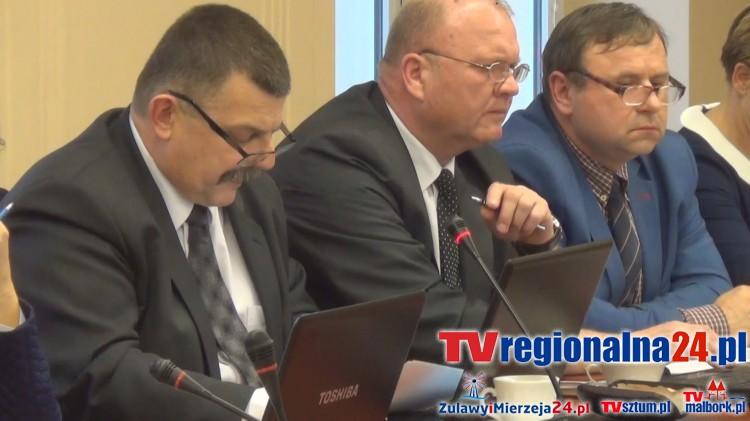 Starosta podaje koszta odśnieżania. XV sesja Rady Powiatu Sztumskiego - 27.01.2016
