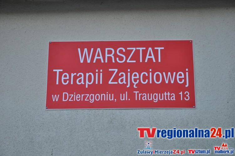Burmistrz Dzierzgonia Elżbieta Domańska otworzyła Warsztaty Terapii Zajęciowej w Dzierzgoniu – 15.01.2016