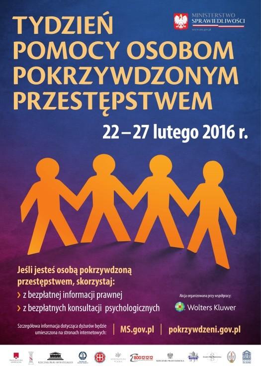 Sztum. Tydzień Pomocy Pokrzywdzonym Przestępstwem - 23.02.2016