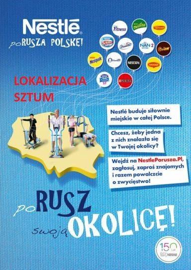 """Akcja """"Nestle porusza Polskę"""" w Sztumie – 5.04.2016"""