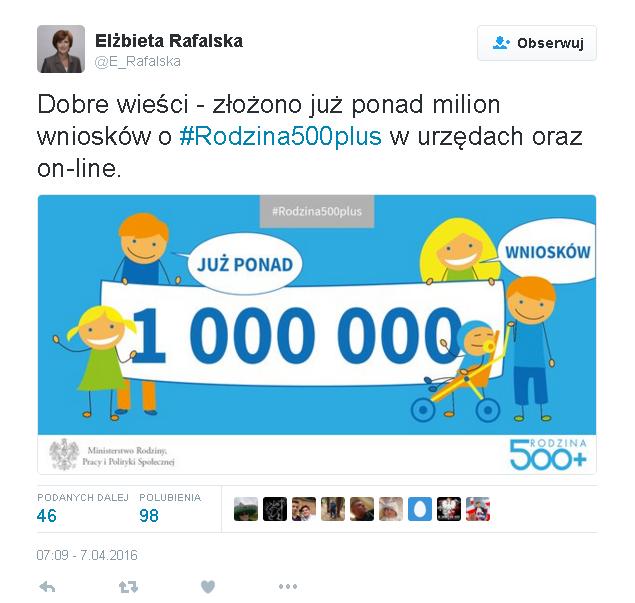 Dzierzgoń/Sztum: 1123 wnioski do Programu 500 +. Najczęstszy błąd – nie wpisywanie wszystkich dzieci i... małżonka – 8.04.2016