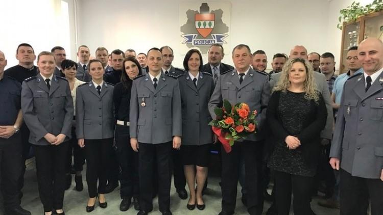 Naczelnik Wydziału Kryminalnego sztumskiej policji przeszedł na emeryturę…