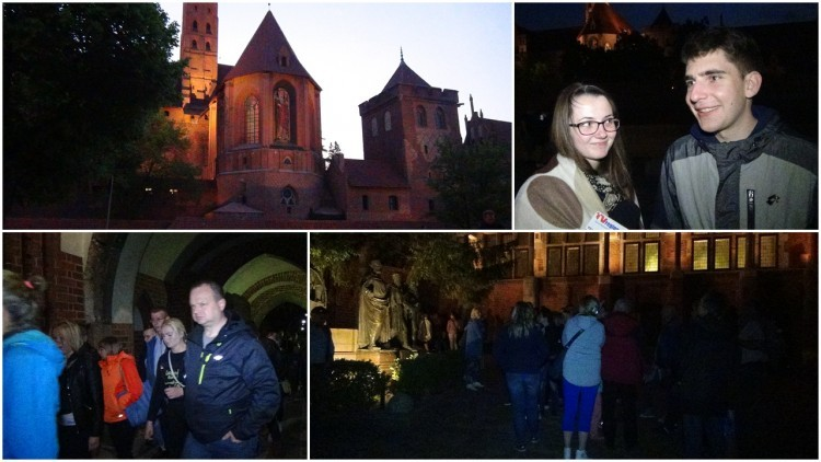 To była wyjątkowa noc dla miłośników muzeów. Malborski Zamek jakiego…