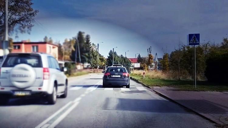 Wariat na drodze w Kątach Rybackich. Złamał kilka przepisów jednocześnie.…
