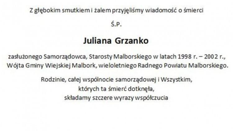 Zarząd, Radni oraz Pracownicy Starostwa Powiatowego w Malborku składają…
