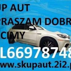 SKUP AUT ZA GOTÓWKĘ ! tel.669787480 KUPIMY KAŻDE AUTO.RÓWNIEŻ KASACJA-ZŁOMOWANIE