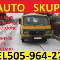 Złomowanie Kasacja Aut tel.505964223 Nowy Dwór Gdański,Stegna,Ostaszewo i okolice darmowy dojazd w każde miejsce