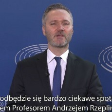 Spotkanie otwarte z prof. Andrzejem Rzeplińskim w Malborku - 22 marca 2019