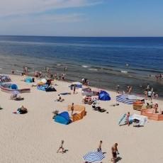 Krynica Morska plaża