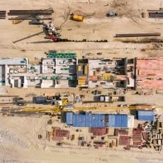 Sierpień na budowie drogi wodnej łączącej Zalew Wiślany z Zatoką…