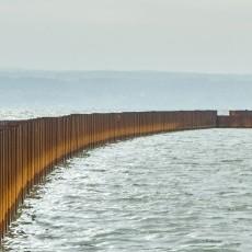 Grudzień na budowie drogi wodnej łączącej Zalew Wiślany z Zatoką…