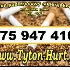 Dobry tytoń papierosowy 65zl/kg *szybka wysyłka* www.Tyton-Hurt.pl