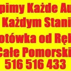 Skup Aut Sztum,Mikołajki Pomorskie tel.516516433 Złomowanie Kasacja Aut całe woj.pomorskie